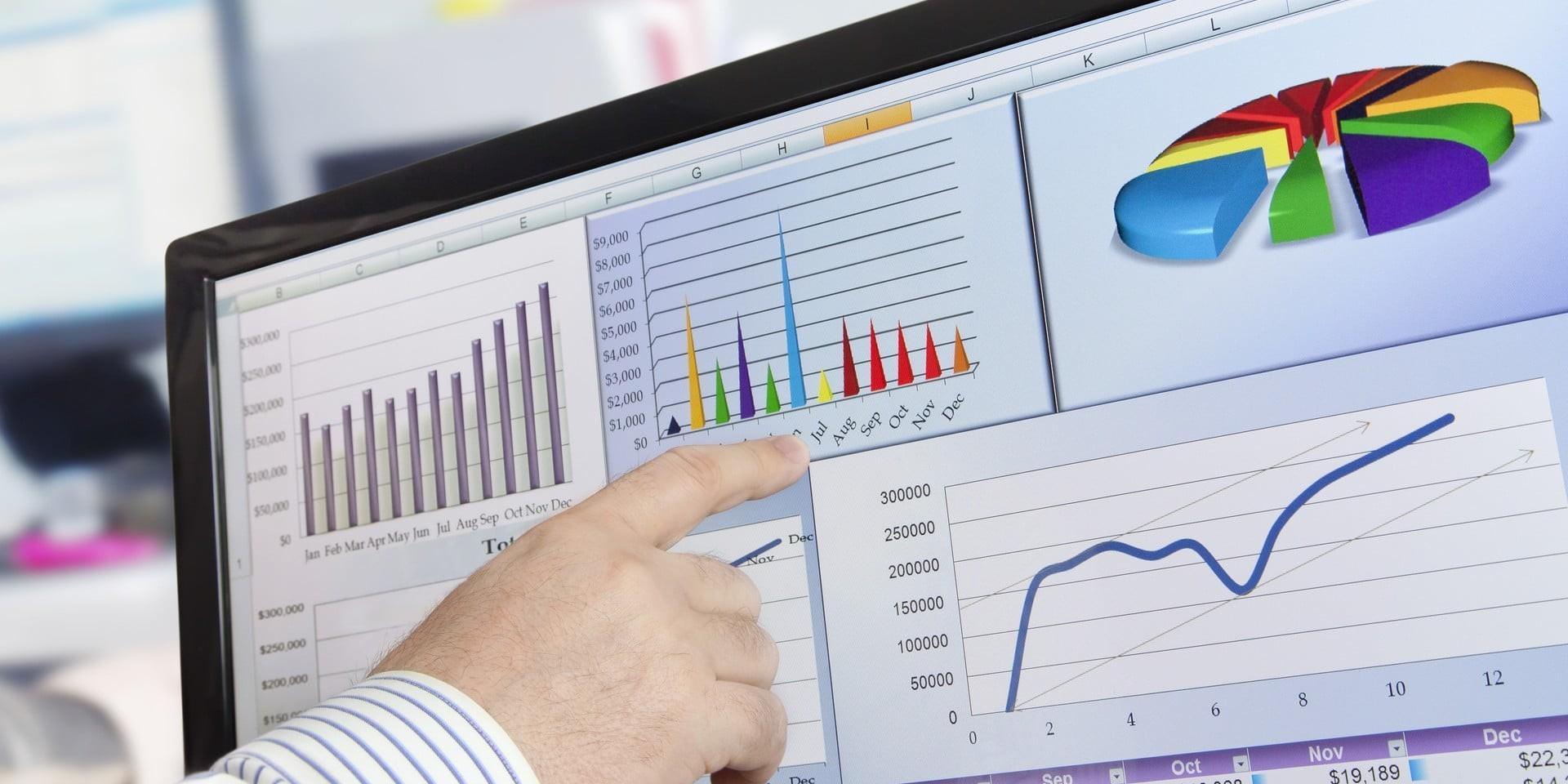 Analizowanie danych finansowych