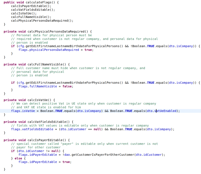 fragment kodu